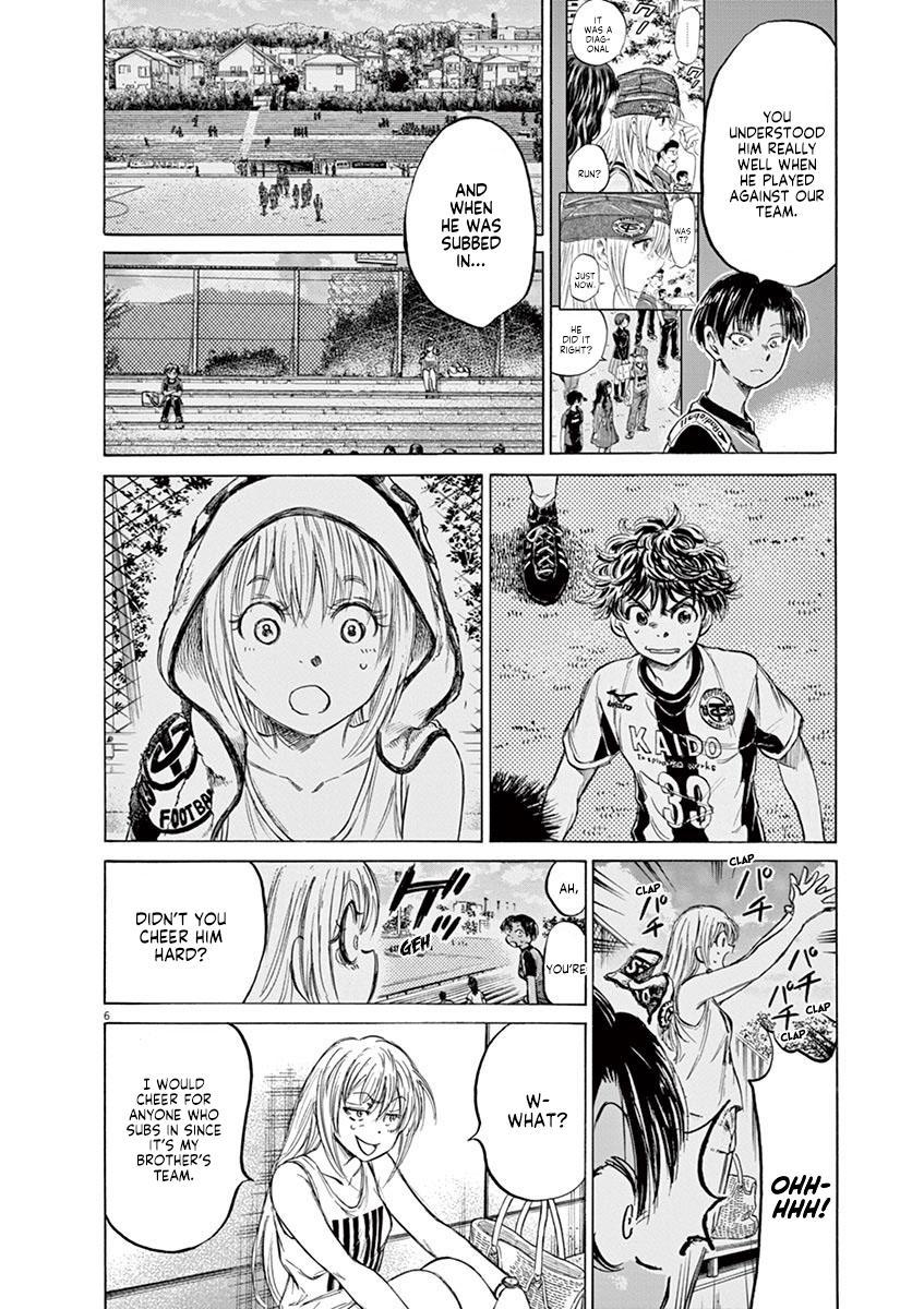 Ao Ashi Vol.14 Chapter 138: Wanting To Meet You page 7 - Mangakakalots.com