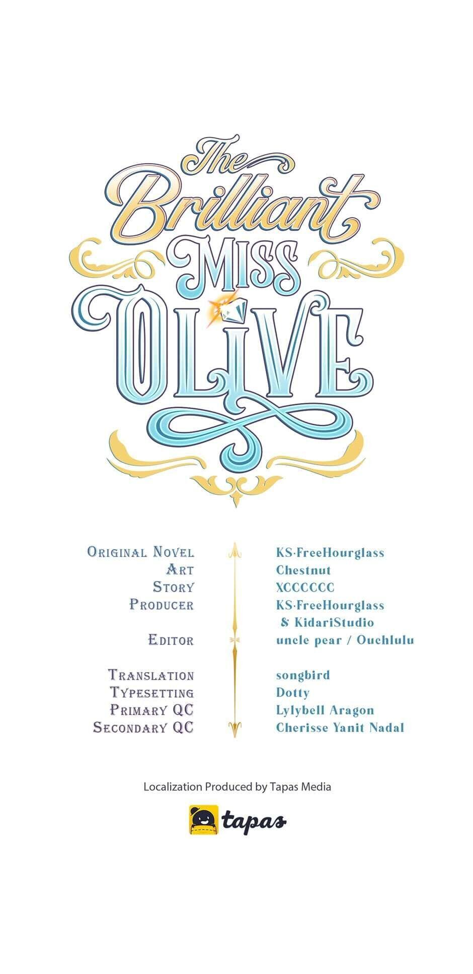 The Brilliant Miss Olive Chapter 15 page 1 - Mangakakalots.com