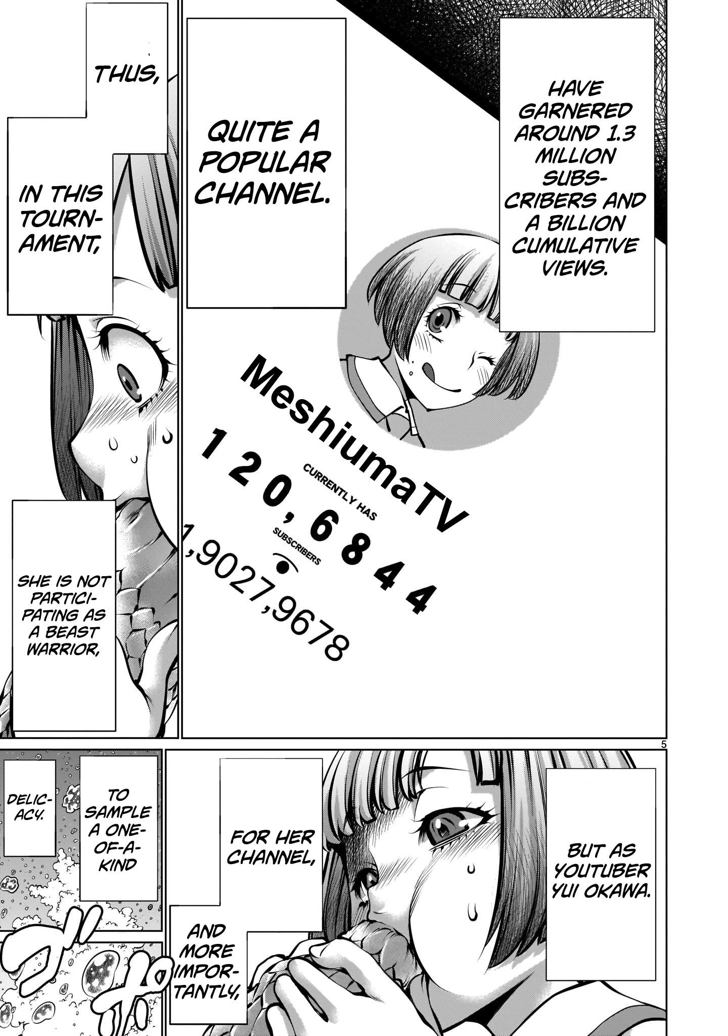 """Killing Bites Chapter 89: """"knowing How To Hunt Is In My Nature♡"""" page 5 - Mangakakalots.com"""