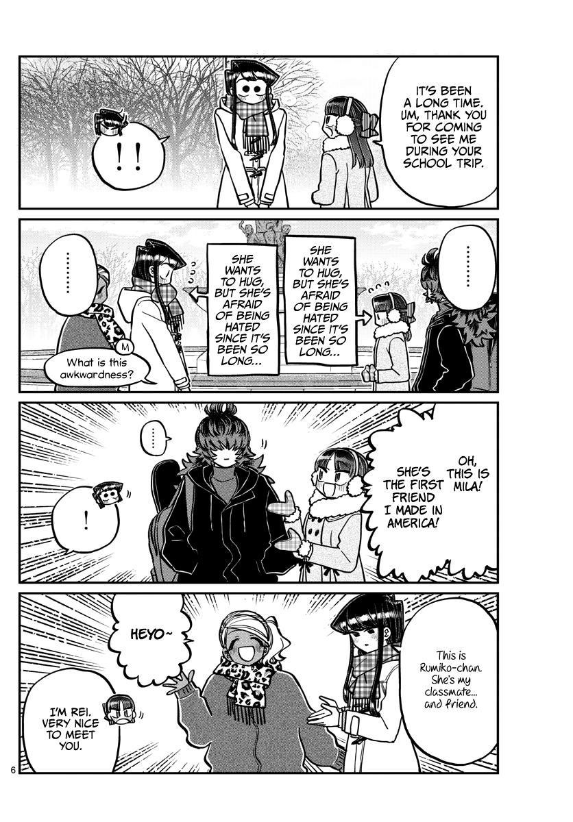 Komi-San Wa Komyushou Desu Chapter 284: Reunion page 6 - Mangakakalot