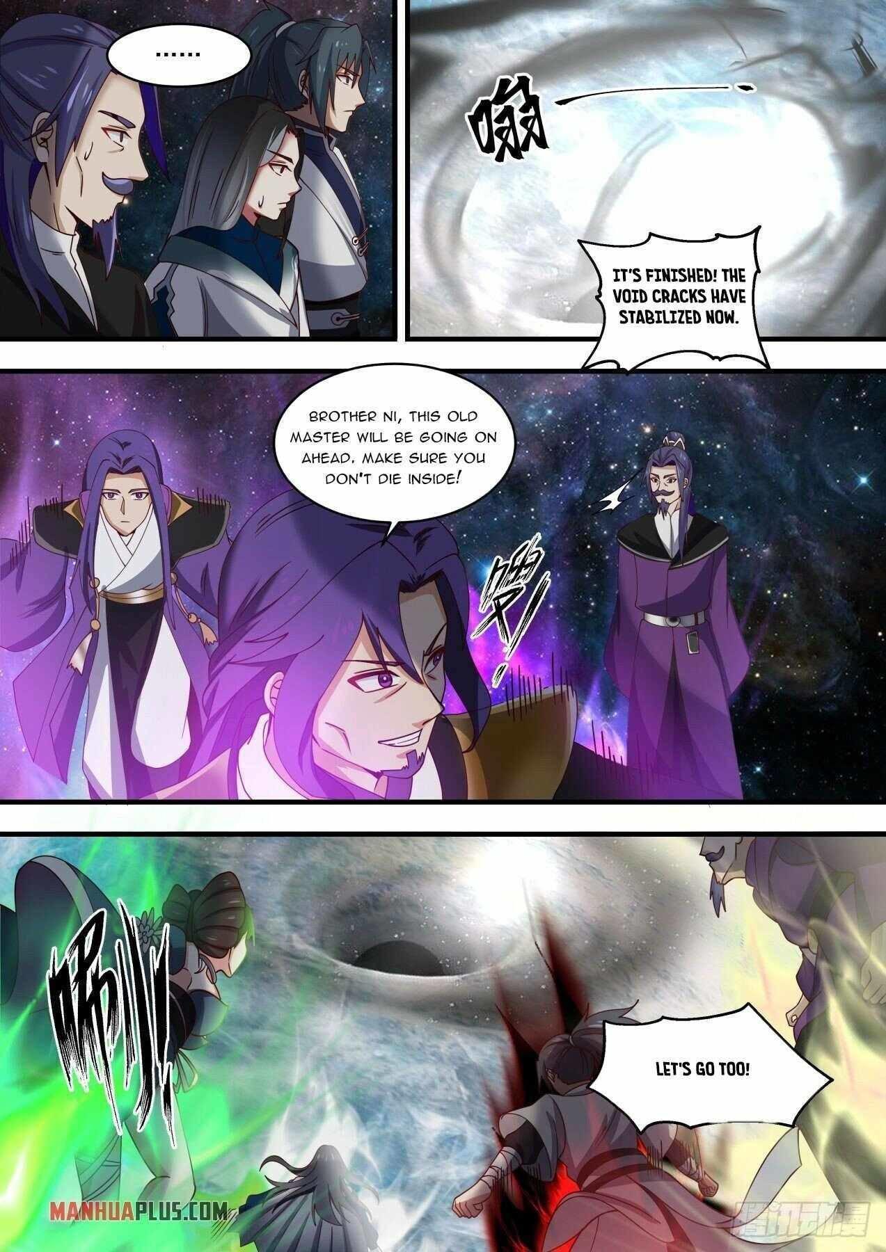 Martial Peak Chapter 1452 page 10 - Mangakakalots.com