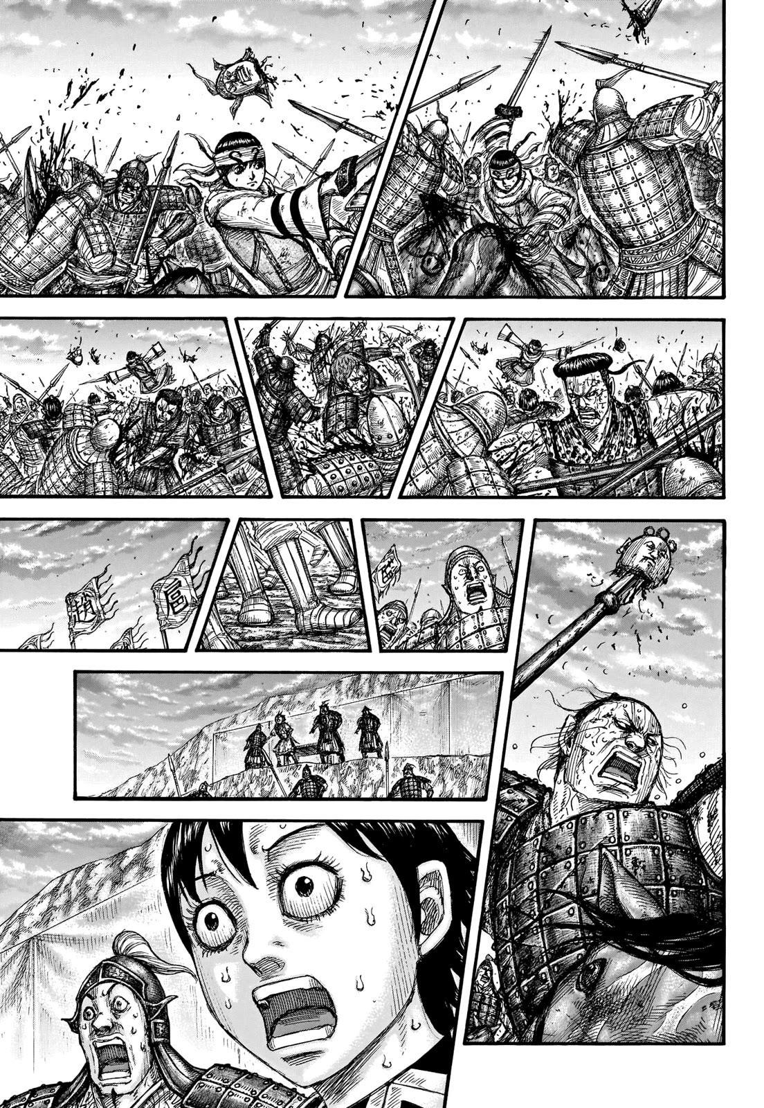 Kingdom Chapter 690: According To Plan page 14 - Mangakakalot