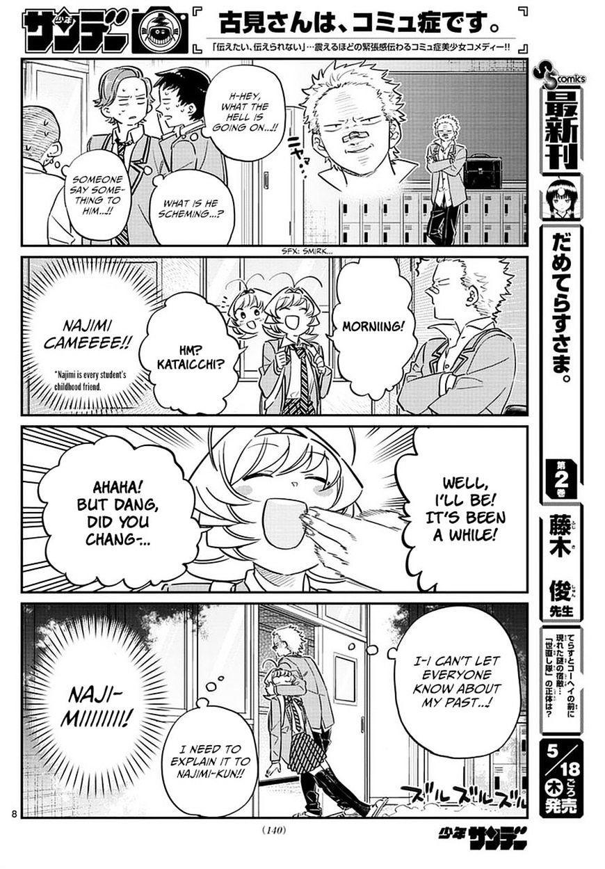 Komi-San Wa Komyushou Desu Vol.6 Chapter 76: A Delinquent page 8 - Mangakakalot