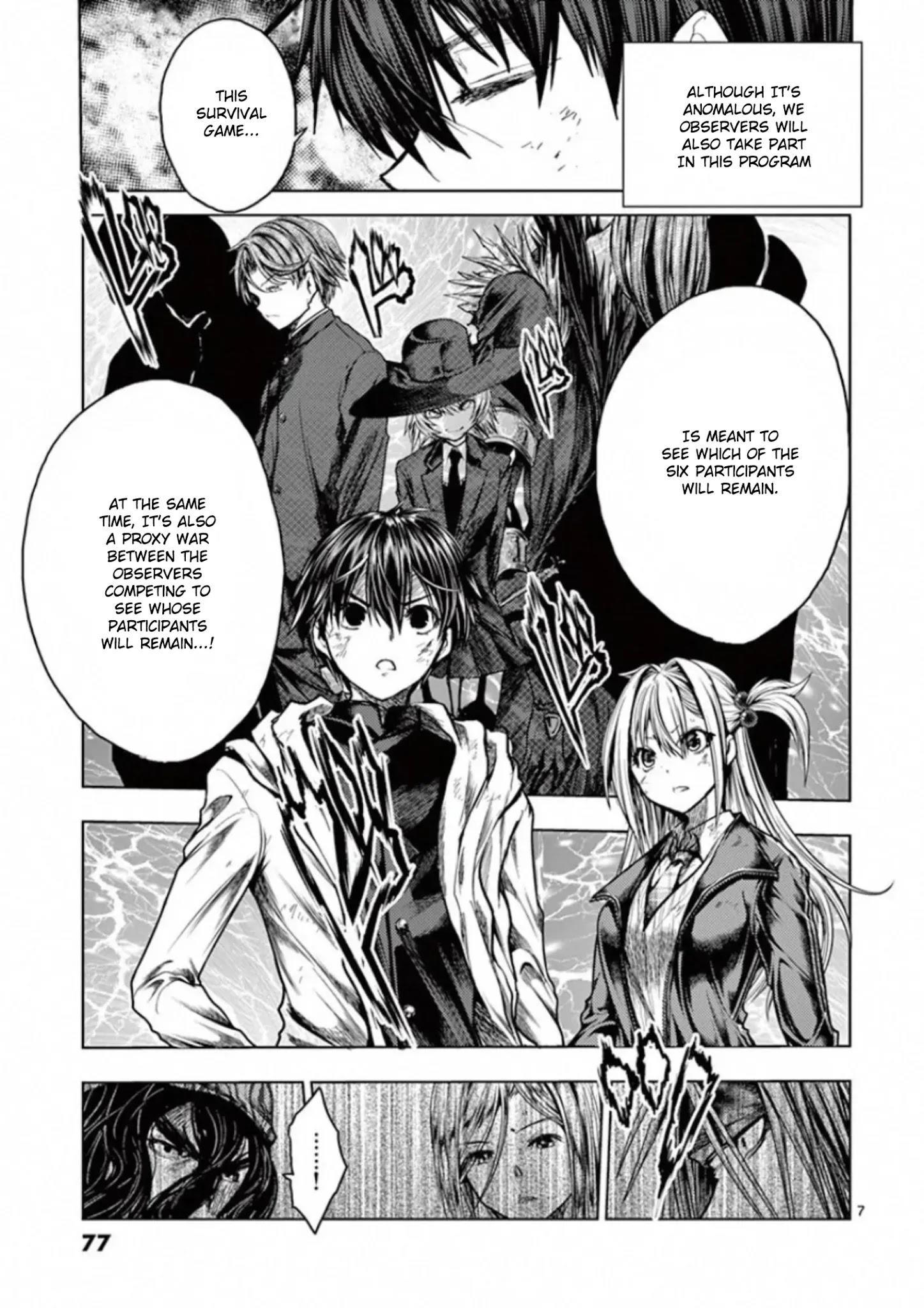 Deatte 5 Byou De Battle Chapter 128: Two Billion Light-Years Of Solitude page 7 - Mangakakalots.com