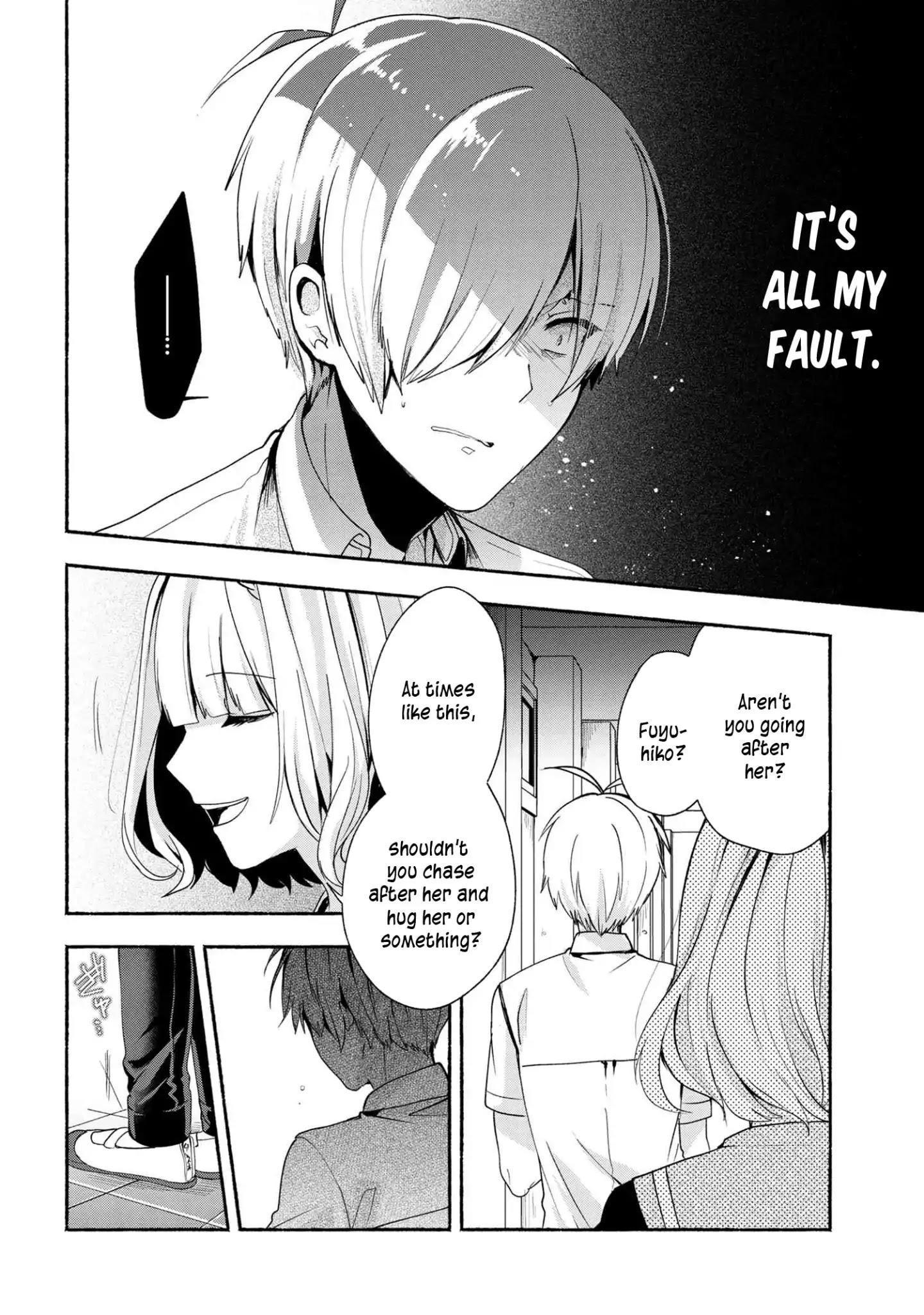 Pashiri Na Boku To Koi Suru Banchou-San Chapter 38 page 13 - Mangakakalots.com