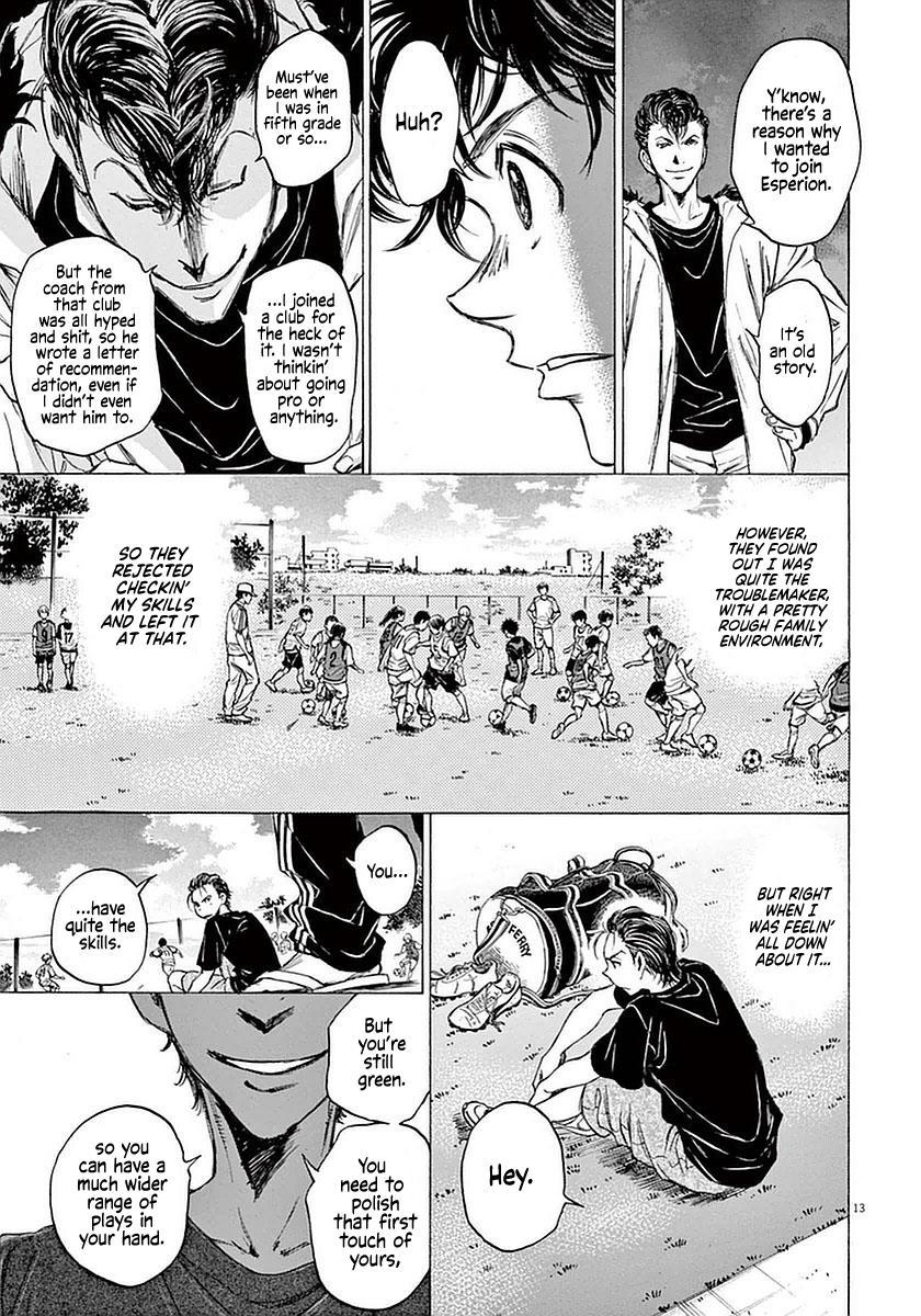 Ao Ashi Vol.4 Chapter 38: The Spartan Pompadour page 13 - Mangakakalots.com