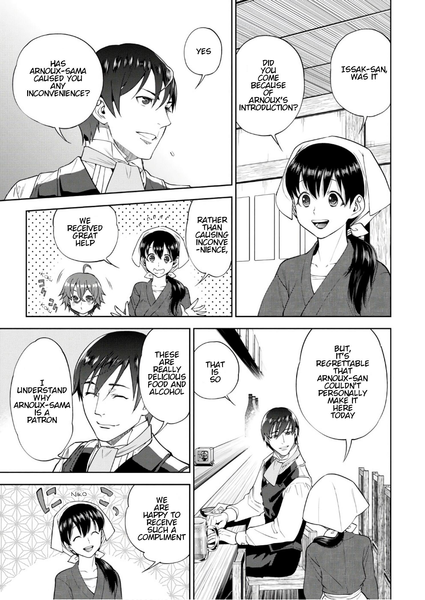 Isekai Izakaya Vol.6 Chapter 36: Beef Tendon Doteyaki page 6 - Mangakakalots.com