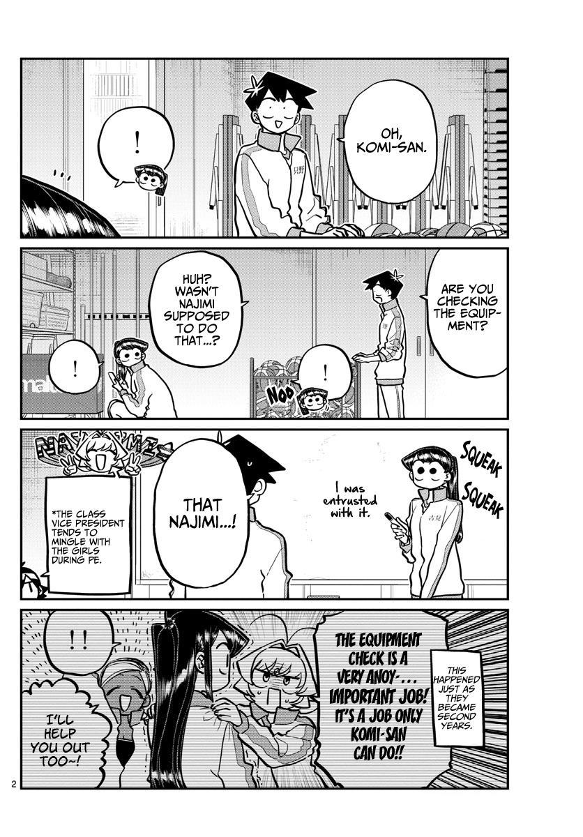 Komi-San Wa Komyushou Desu Chapter 246: Gymnasium Storage page 2 - Mangakakalot