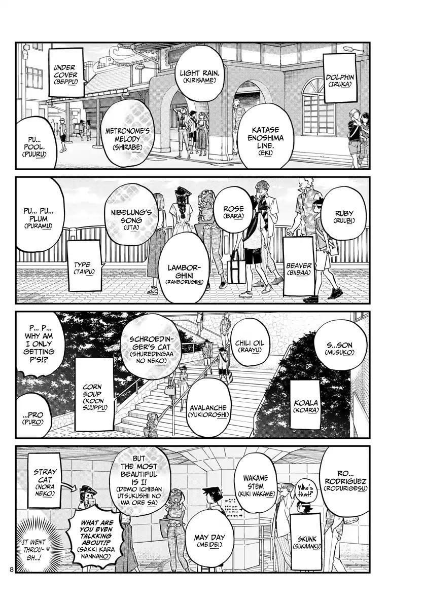 Komi-San Wa Komyushou Desu Vol.12 Chapter 164: The Sea! page 10 - Mangakakalot