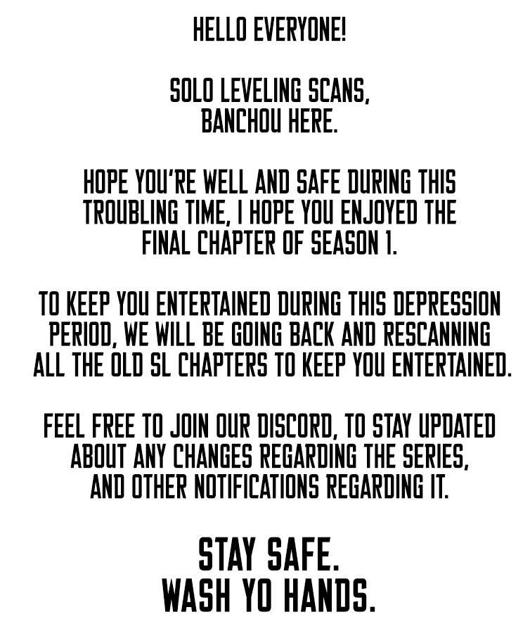 Solo Leveling Chapter 110: Season 1 Finale page 2 - Mangakakalots.com
