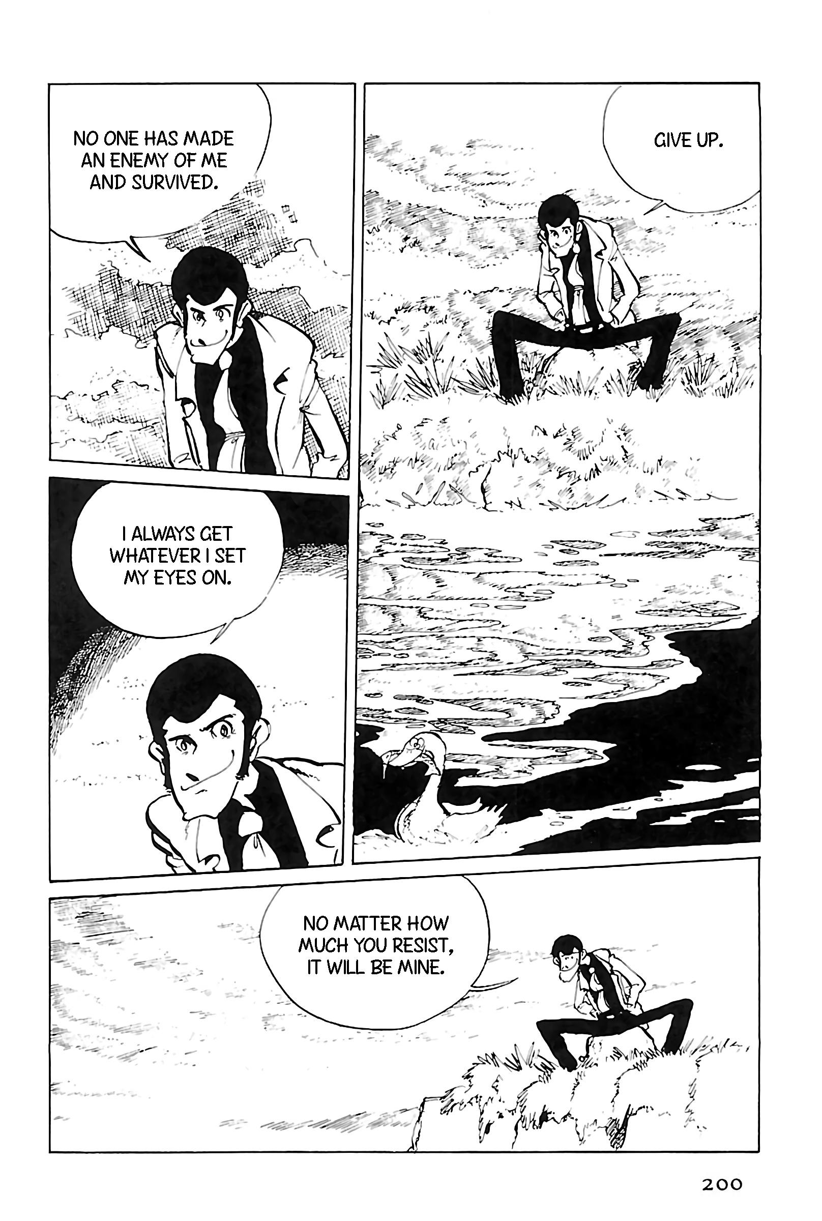 Lupin Iii: World'S Most Wanted Vol.11 Chapter 125: A Play In One Jigen page 4 - Mangakakalots.com