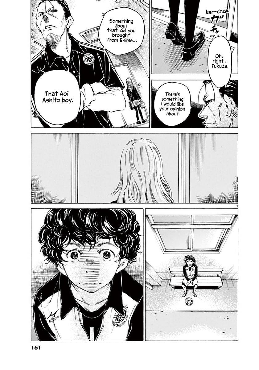Ao Ashi Vol.3 Chapter 27: Hana Ichijou (1) page 7 - Mangakakalots.com