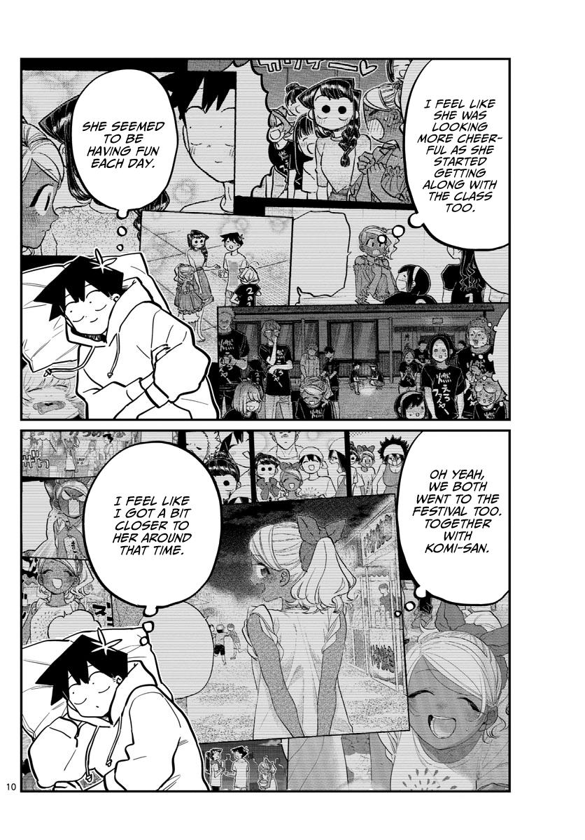 Komi-San Wa Komyushou Desu Chapter 269: Sleep Talking page 10 - Mangakakalot