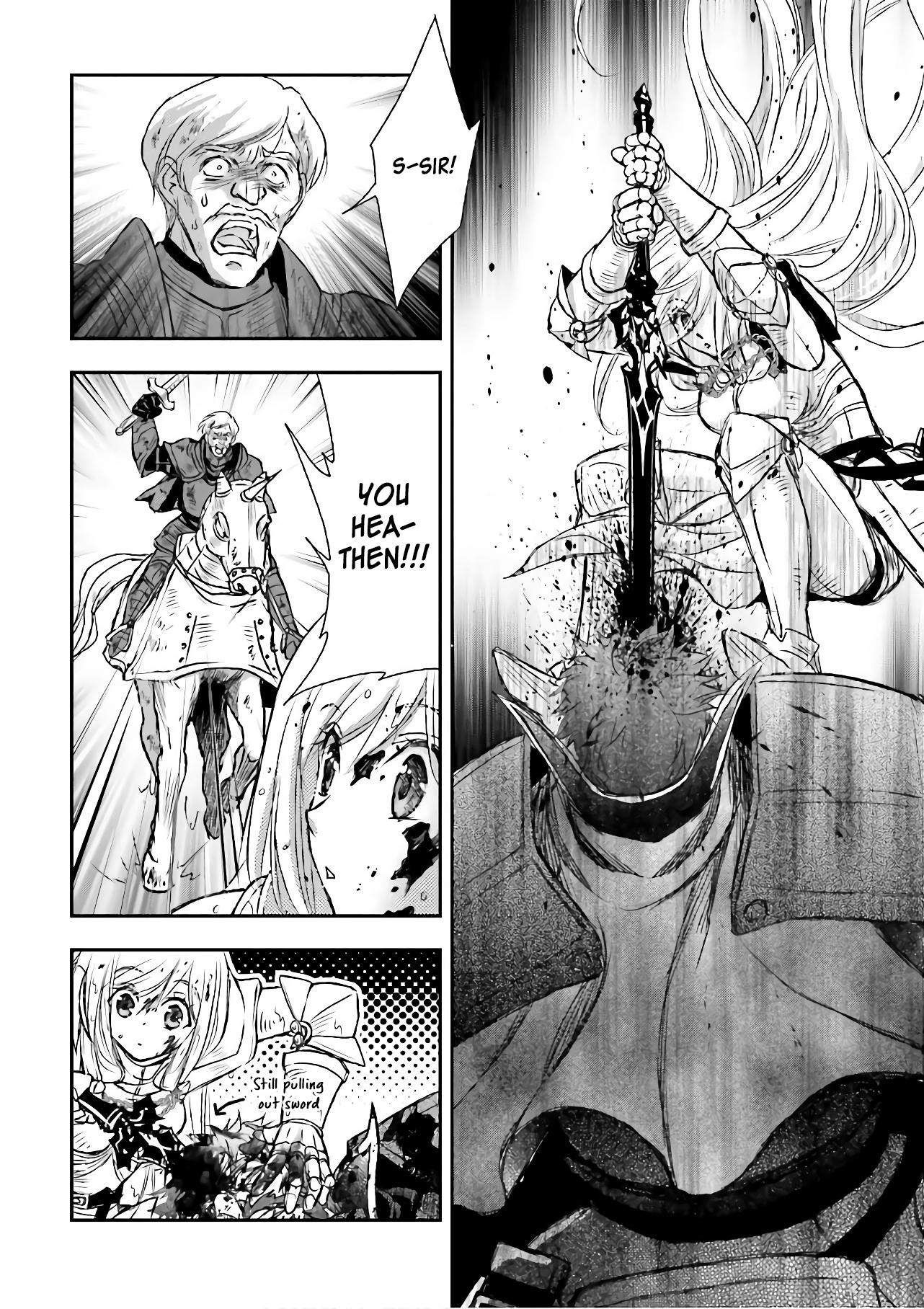The Little Girl Raised By Death Hold The Sword Of Death Tight Chapter 11 page 24 - Mangakakalots.com
