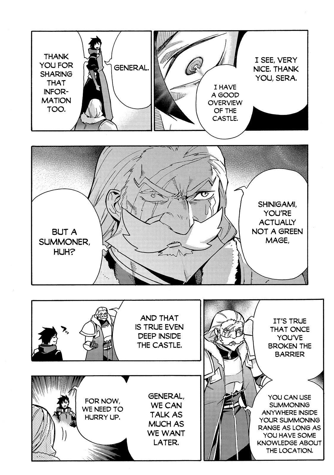 Kuro No Shoukanshi Chapter 73 page 19 - Mangakakalots.com