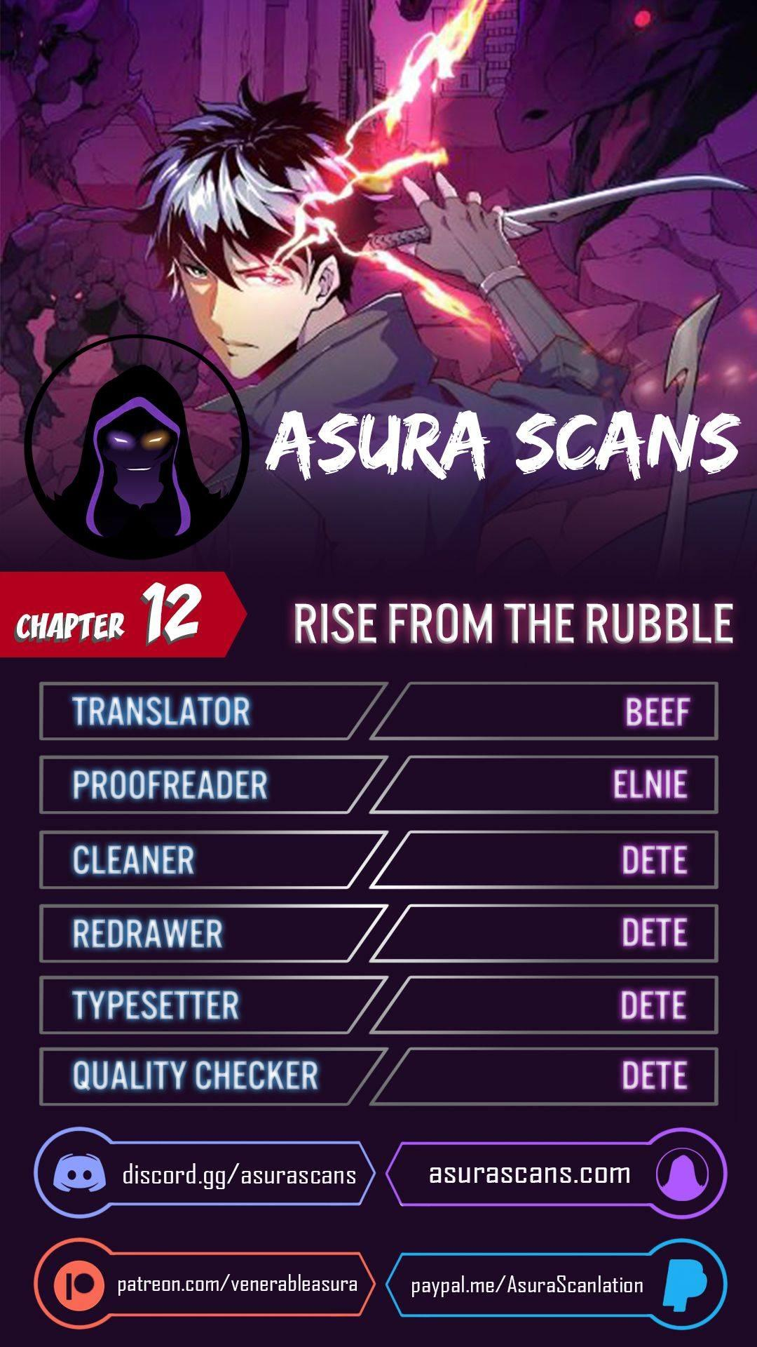 Rise From The Rubble Chapter 12 page 1 - Mangakakalots.com