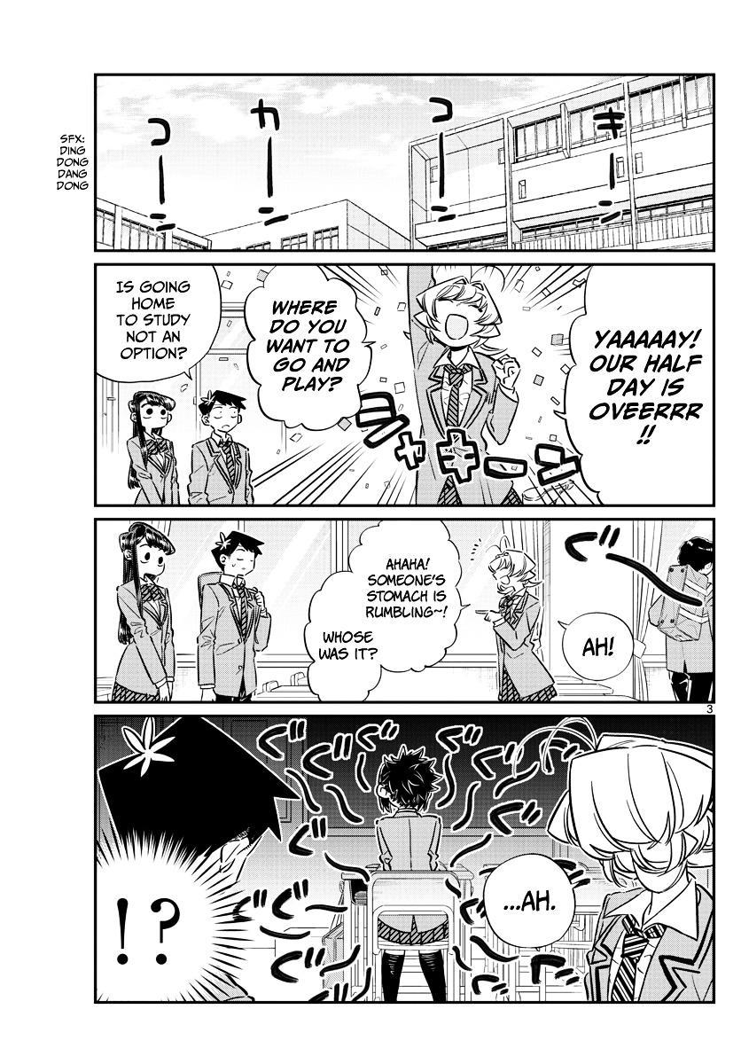 Komi-San Wa Komyushou Desu Vol.5 Chapter 61: Gourmet With Everyone page 3 - Mangakakalot