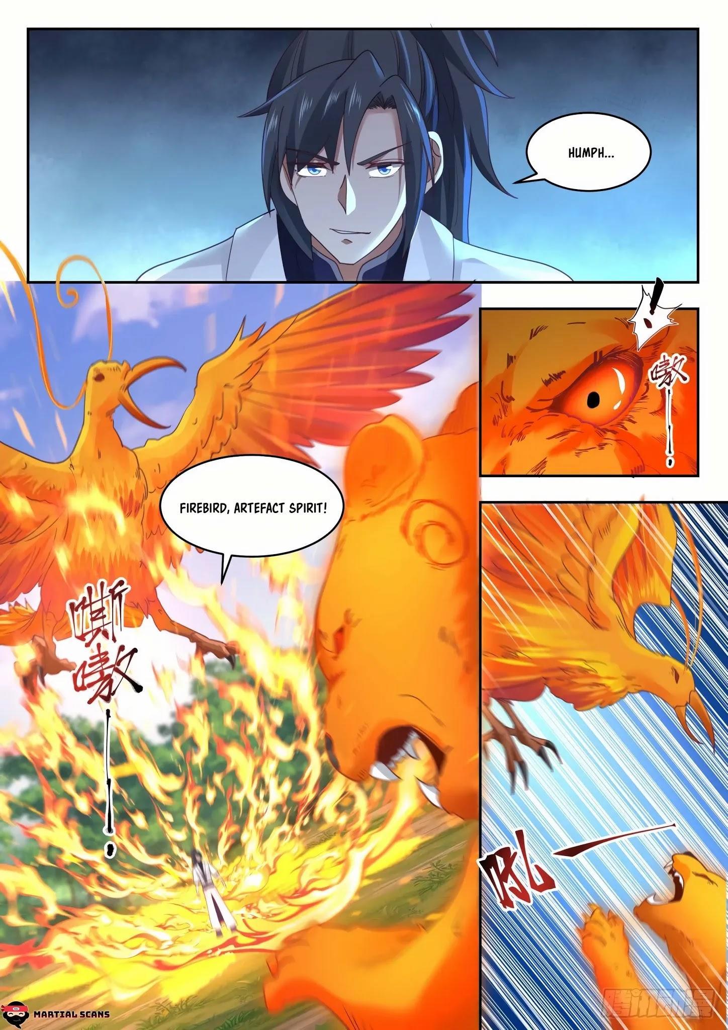 Martial Peak Chapter 1313: Heaven Scorching Thunder Fire page 9 - Mangakakalots.com
