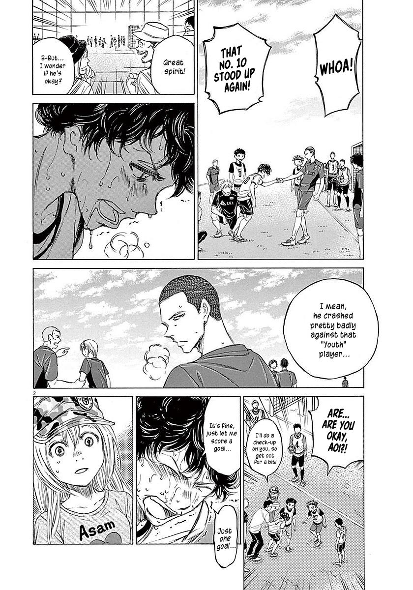 Ao Ashi Vol.2 Chapter 13: Telling The Exam-Takers page 3 - Mangakakalots.com