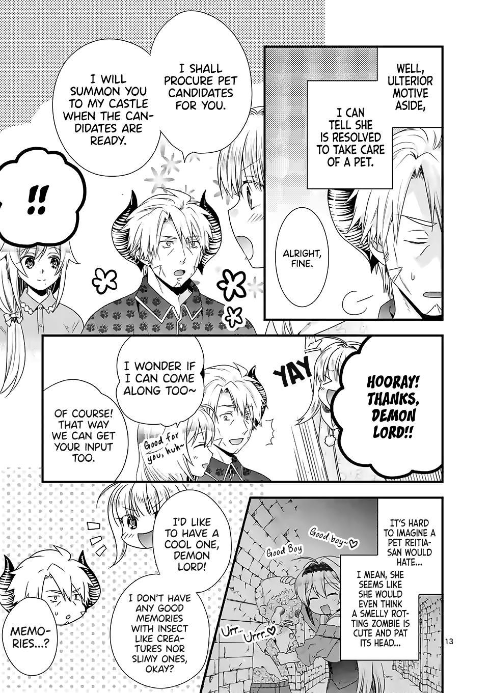 Maou Desu. Onna Yuusha No Hahaoya To Saikon Shita No De, Onna Yuusha Ga Giri No Musume Ni Narimashita. Chapter 34 page 14 - Mangakakalots.com