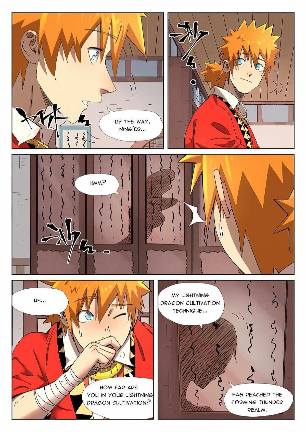 Tales Of Demons And Gods Chapter 343.5 page 3 - Mangakakalot