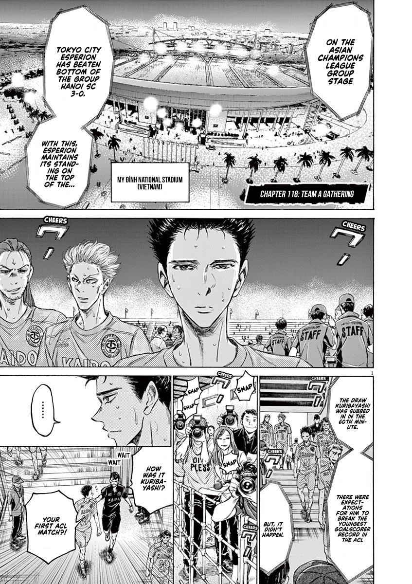 Ao Ashi Vol.12 Chapter 118: Team A Gathering page 2 - Mangakakalots.com