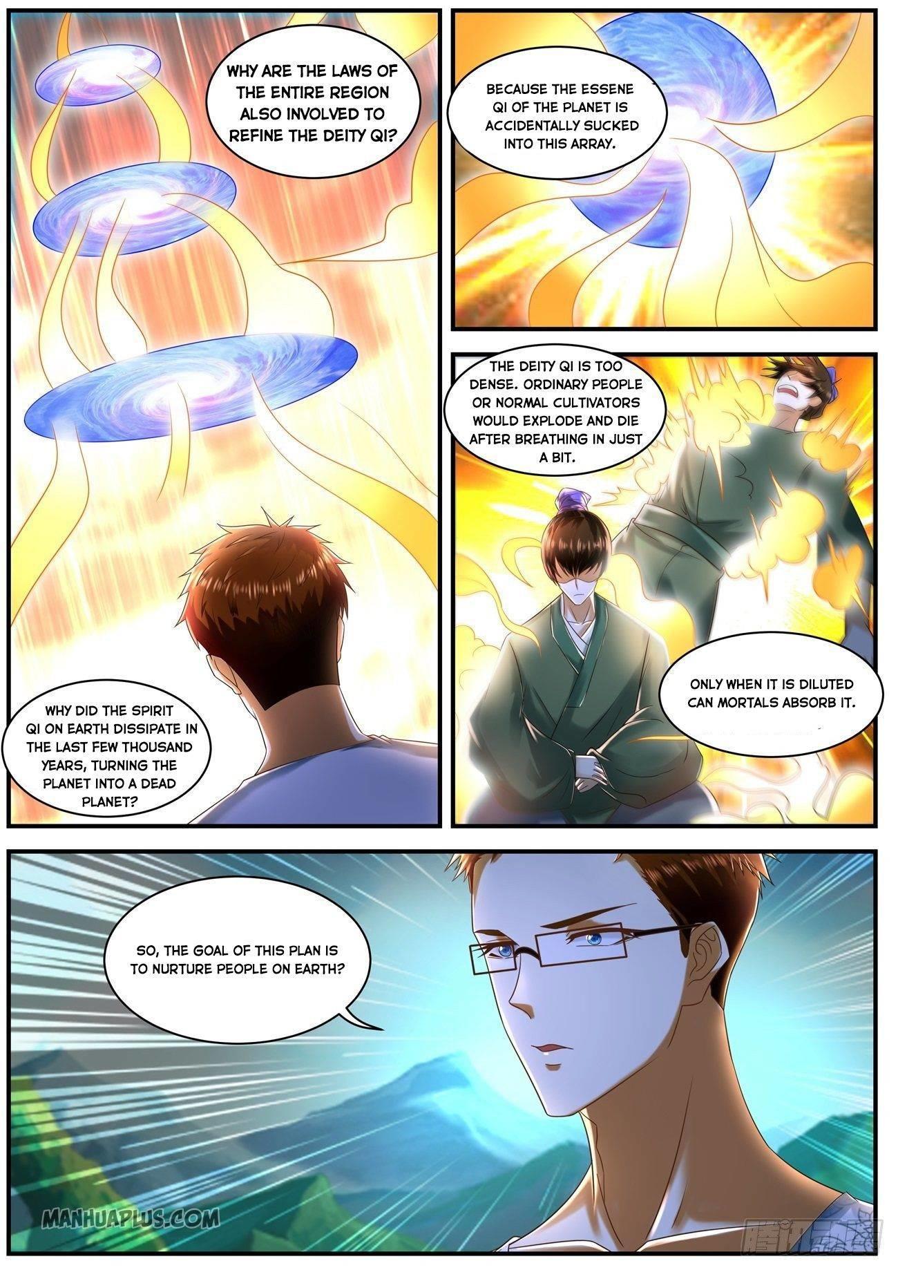 Rebirth Of The Urban Immortal Cultivator Chapter 587 page 8 - Mangakakalots.com