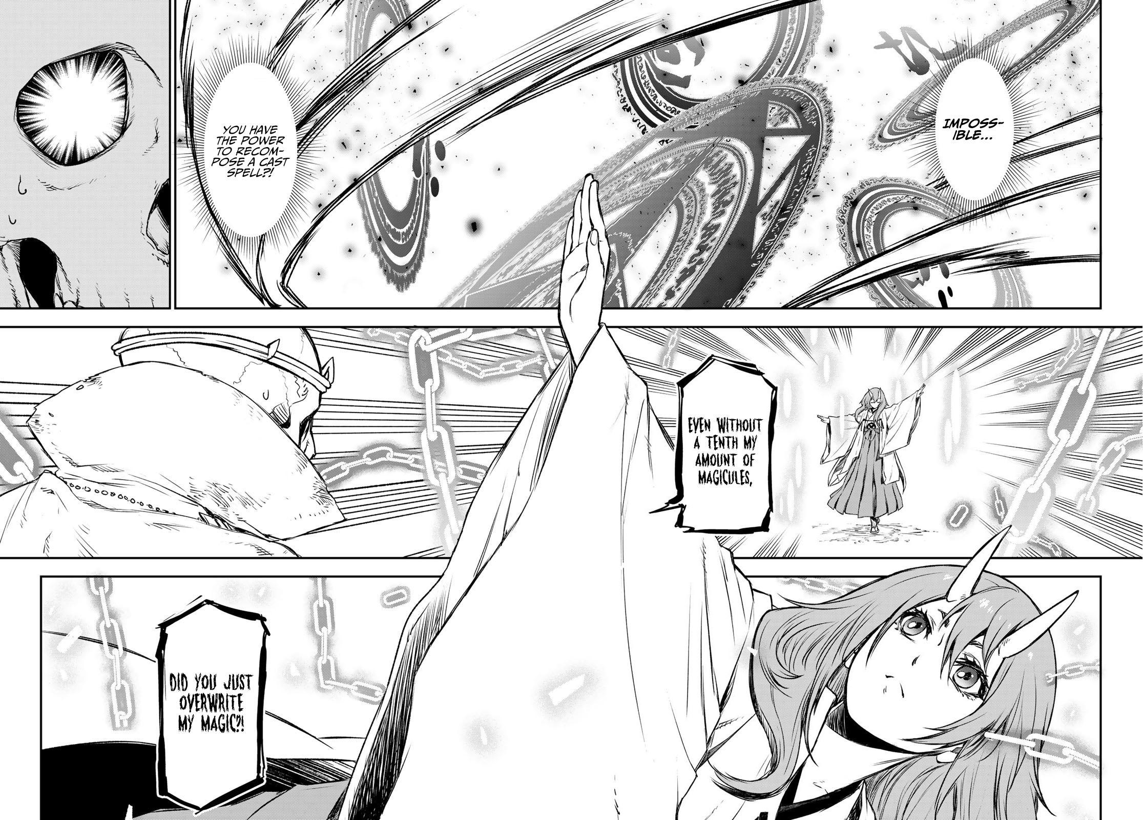 Tensei Shitara Slime Datta Ken Chapter 81: The Wight King page 60 - Mangakakalots.com
