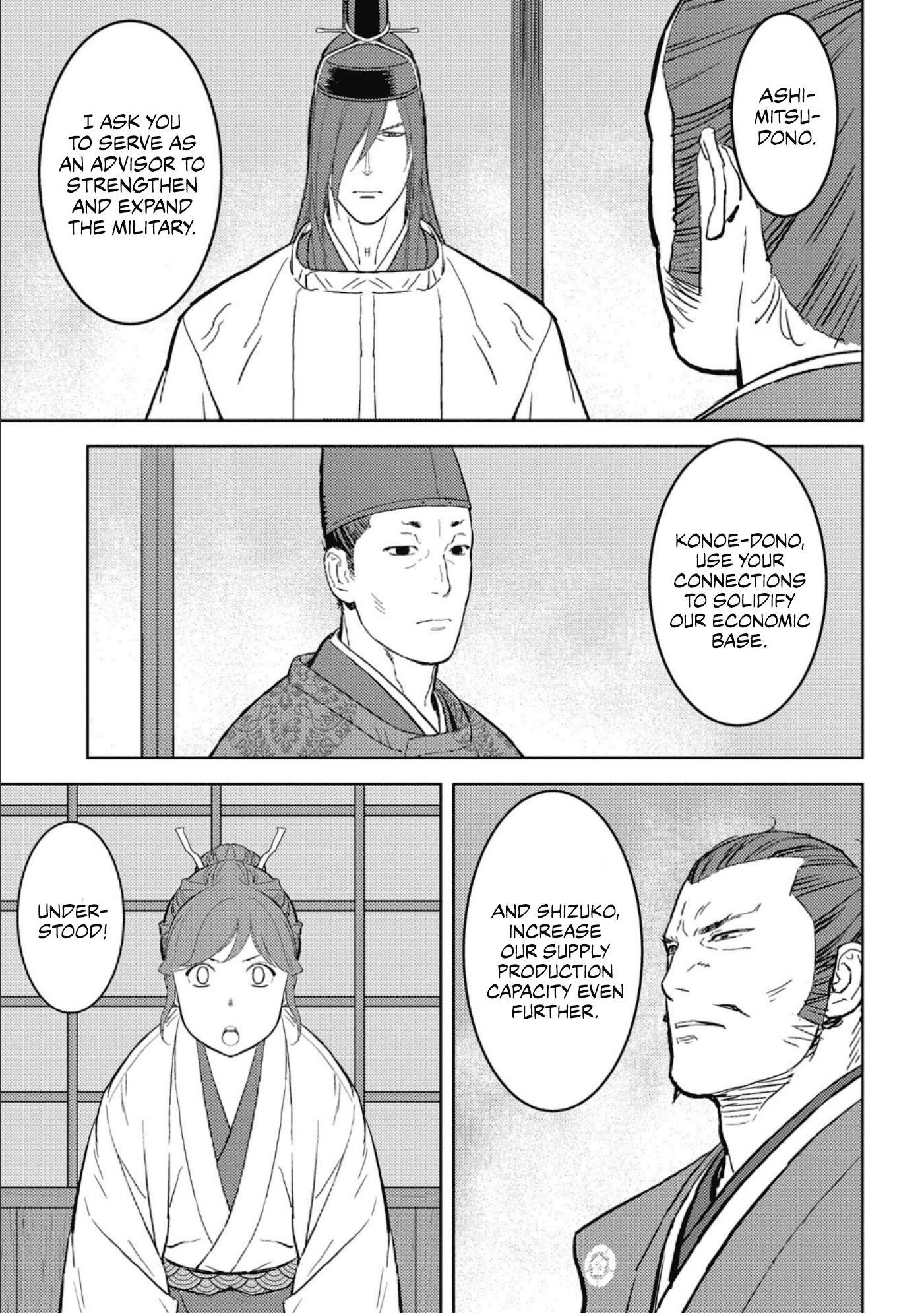 Sengoku Komachi Kurou Tan! Chapter 41 page 8 - Mangakakalots.com