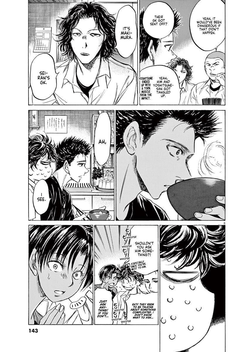 Ao Ashi Chapter 123: At Hinomaru Eatery (2) page 10 - Mangakakalots.com