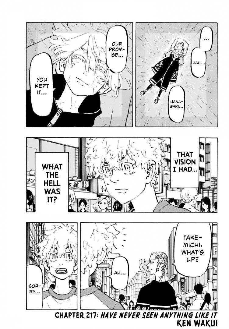 Tokyo Manji Revengers Chapter 217: Have Never Seen Anything Like It page 5 - Mangakakalots.com