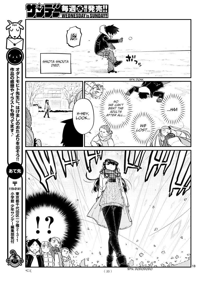 Komi-San Wa Komyushou Desu Vol.7 Chapter 90: Snowball Fight page 7 - Mangakakalot