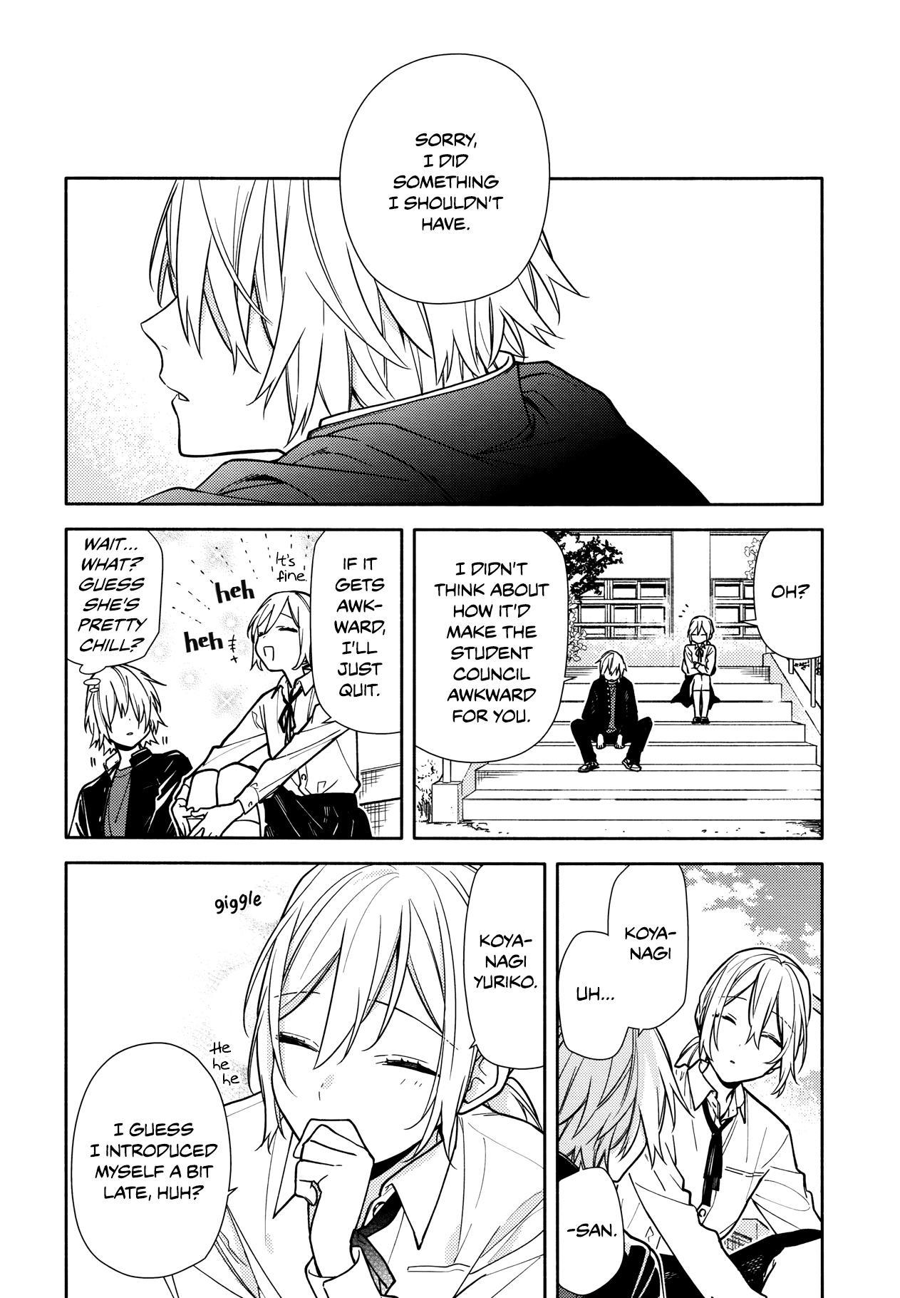 Horimiya Vol.16 Chapter 122: Twenty Years Before page 9 - Mangakakalot