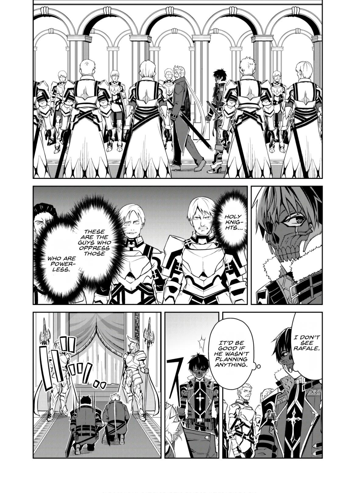 Berserk Of Gluttony Chapter 32: The Unchangeable Place page 3 - Mangakakalots.com