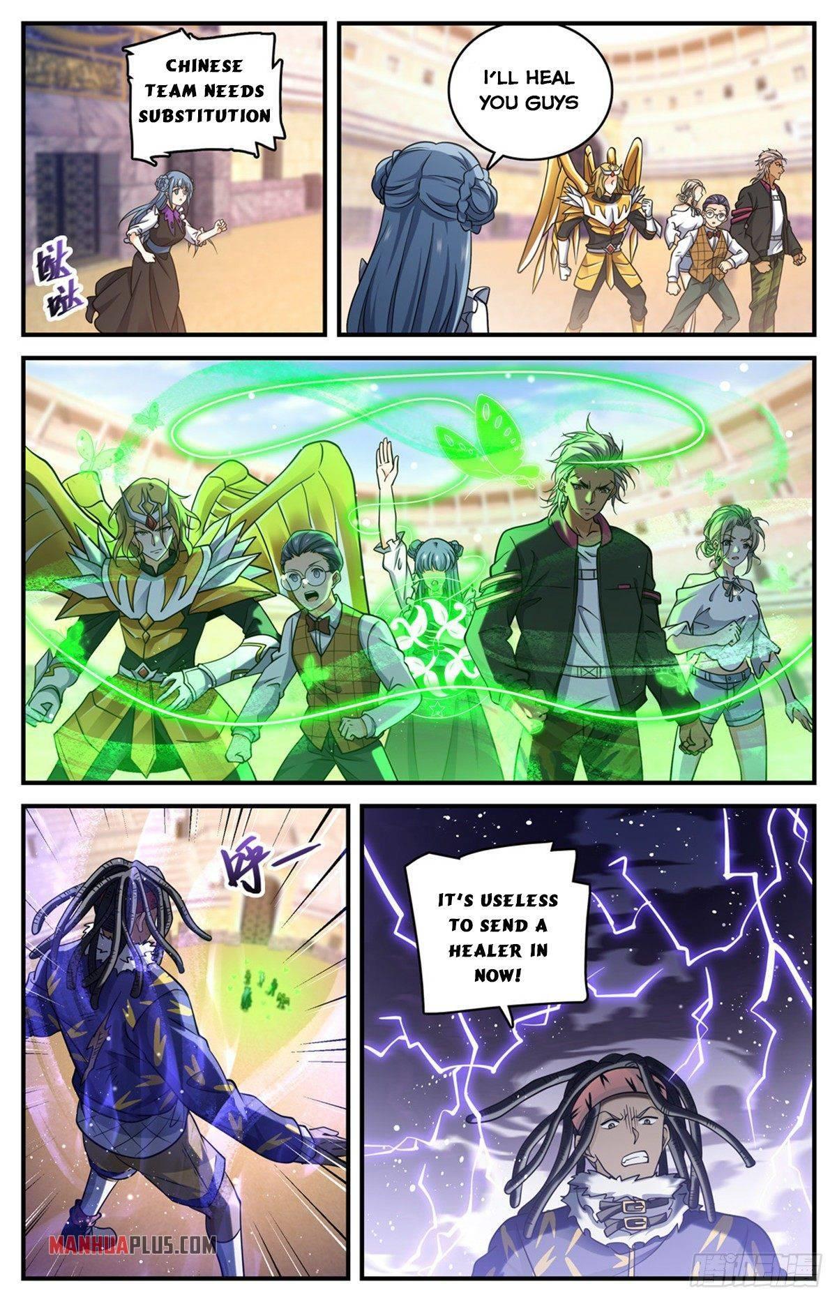 Versatile Mage Chapter 723 page 12 - Mangakakalots.com