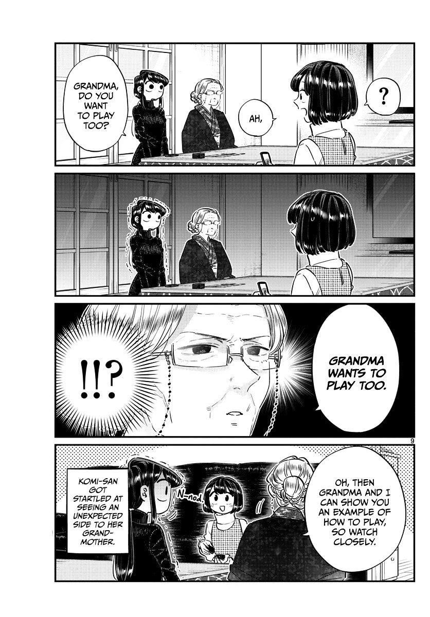 Komi-San Wa Komyushou Desu Vol.7 Chapter 91: End Of The Year page 9 - Mangakakalot