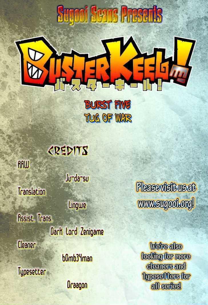 Buster Keel! Vol.2 Chapter 5 : Tug Of War page 1 - Mangakakalots.com