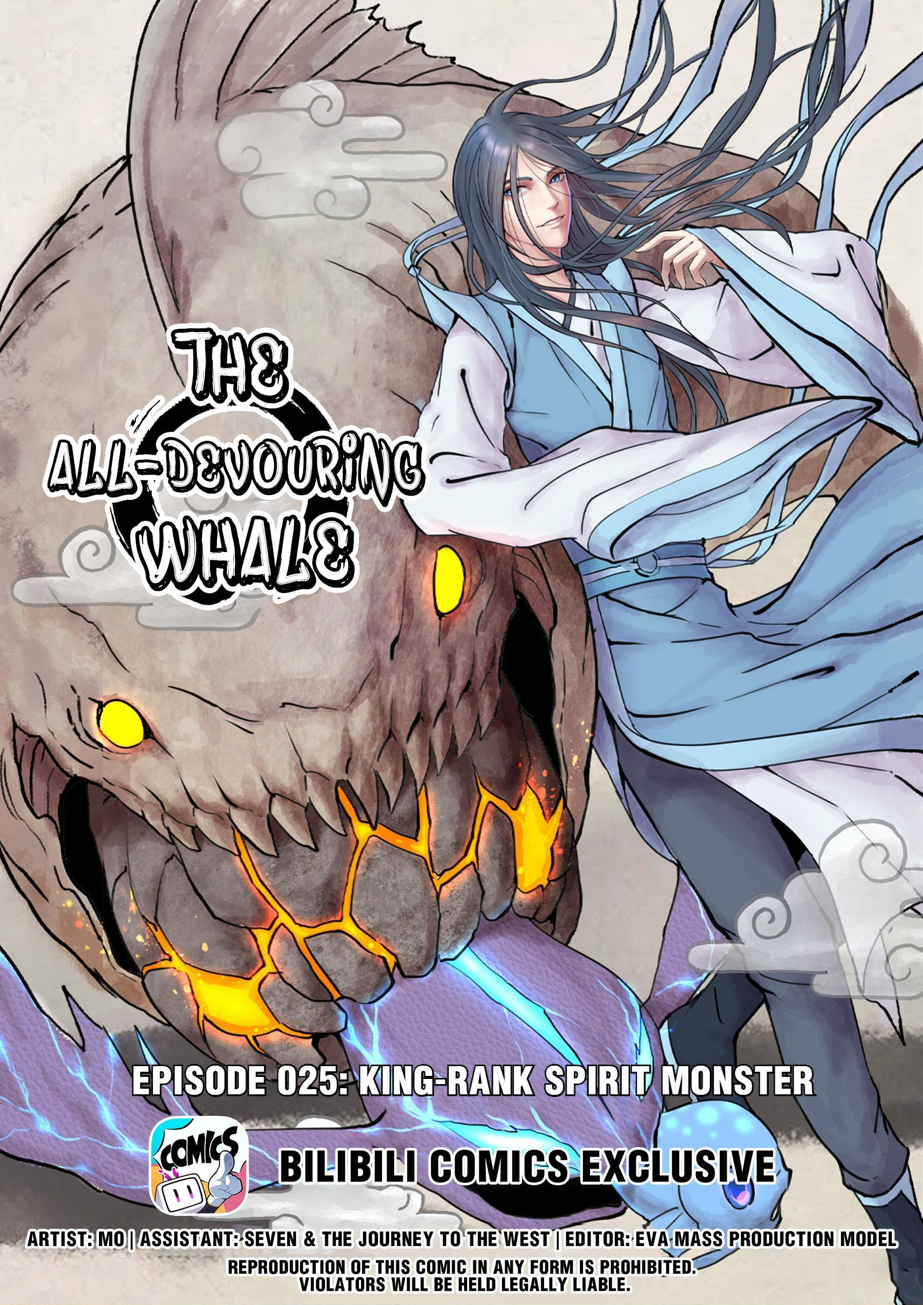 The All-Devouring Whale Chapter 25: King-Rank Spirit Monster page 1 - Mangakakalots.com