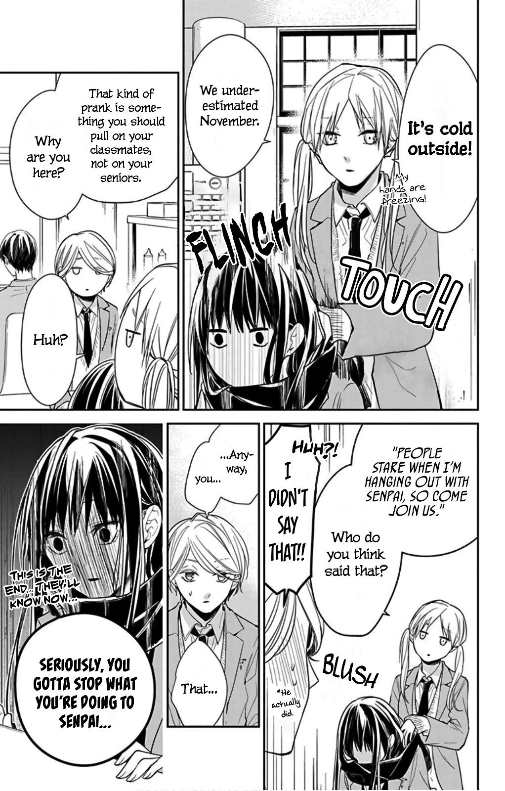 Tsuiraku Jk To Haijin Kyoushi Chapter 37 page 17 - Mangakakalots.com