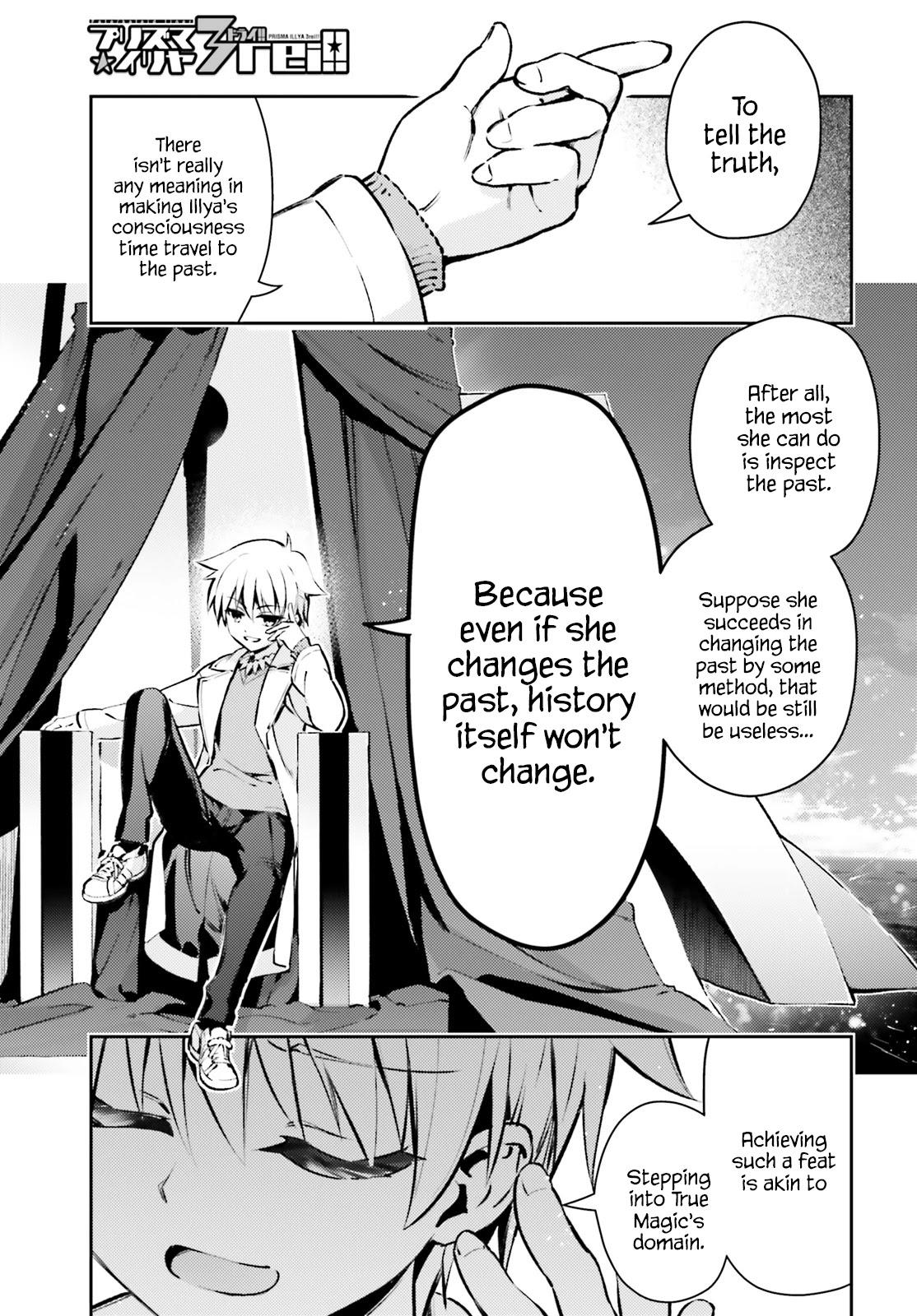 Fate/kaleid Liner Prisma☆Illya 3Rei!! Chapter 66.1: Toward The Light Of The Beginning page 1 - Mangakakalots.com