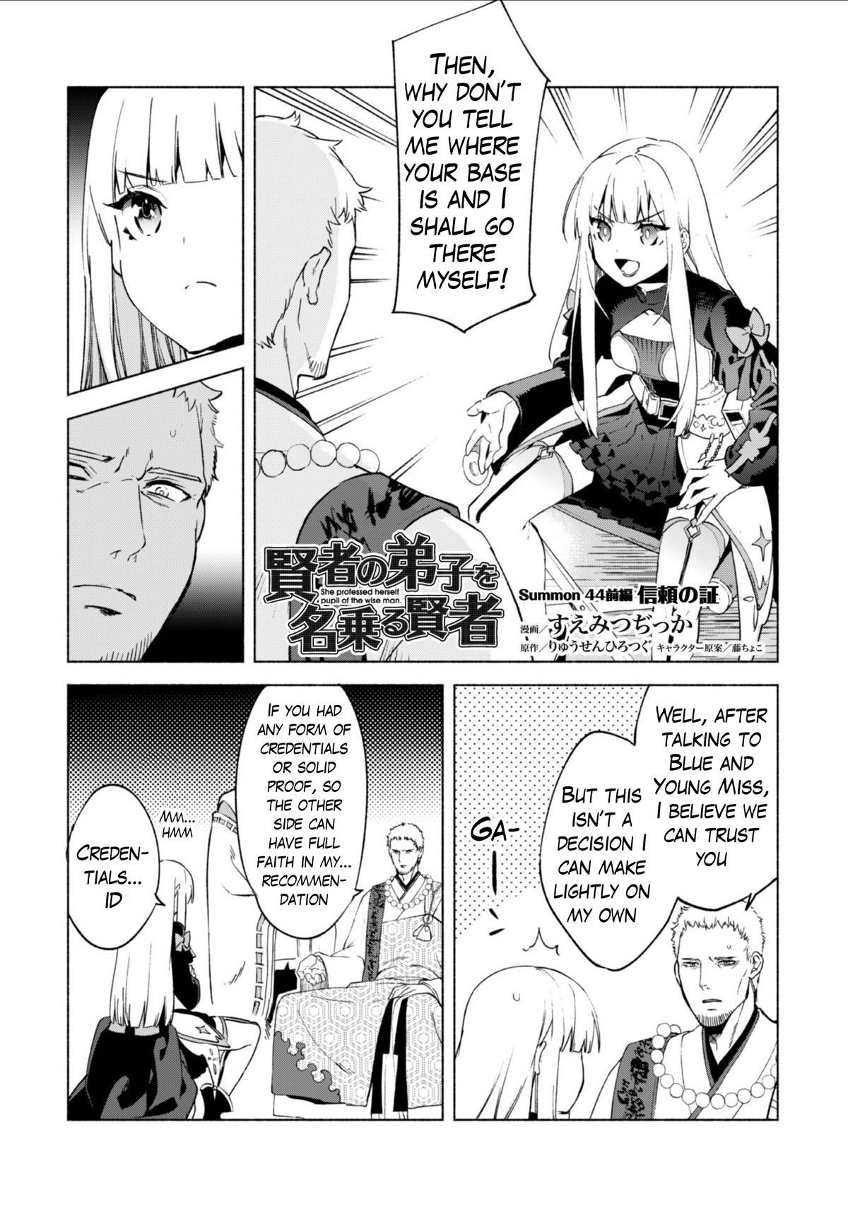 Kenja No Deshi Wo Nanoru Kenja Chapter 44 page 2 - Mangakakalots.com