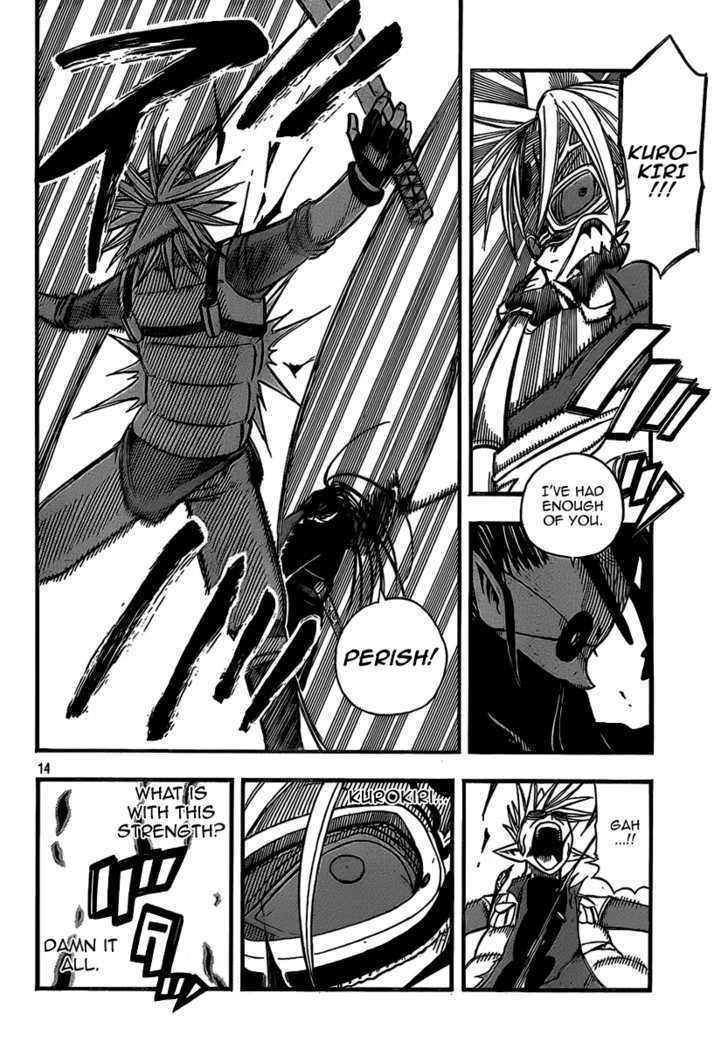 Buster Keel! Vol.2 Chapter 9 : Black?rock?cutter page 14 - Mangakakalots.com