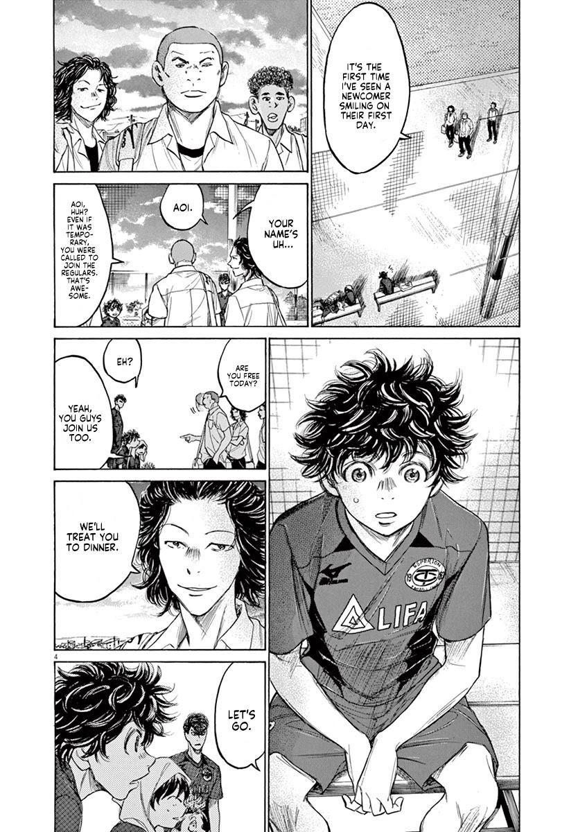 Ao Ashi Chapter 122: At Hinomaru Eatery (1) page 5 - Mangakakalots.com