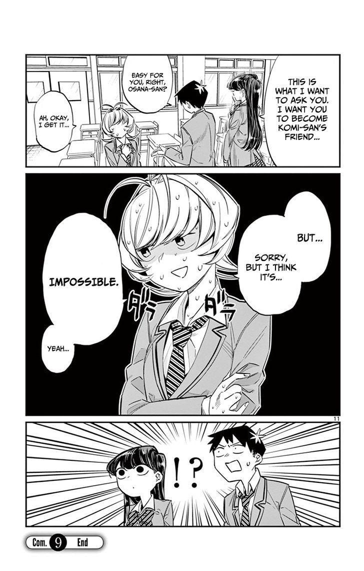 Komi-San Wa Komyushou Desu Vol.1 Chapter 9: Childhood Friend page 11 - Mangakakalot