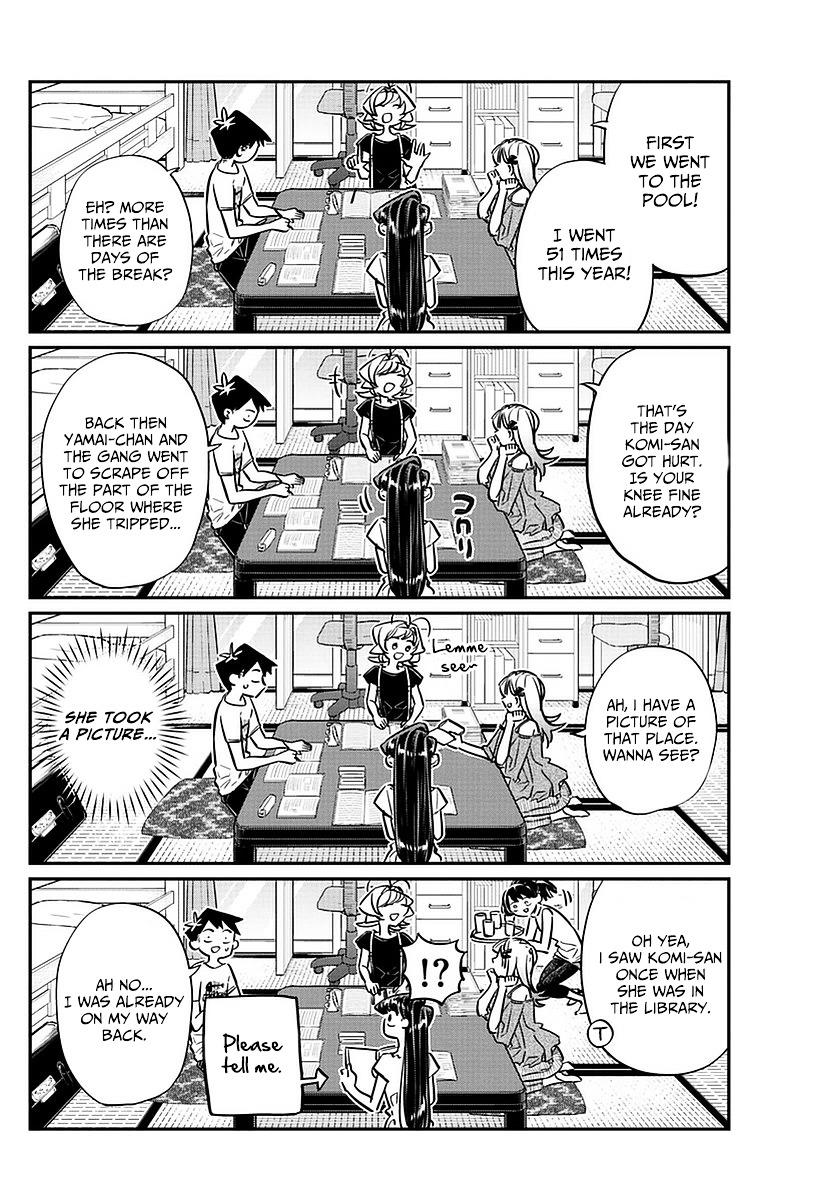 Komi-San Wa Komyushou Desu Vol.4 Chapter 50: The End Of Summer Break page 14 - Mangakakalot