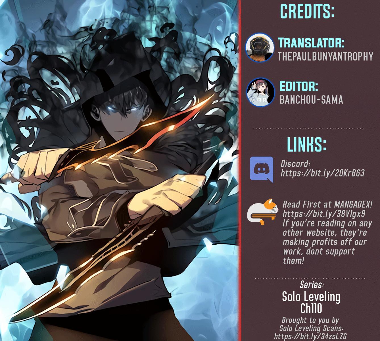 Solo Leveling Chapter 110: Season 1 Finale page 1 - Mangakakalots.com
