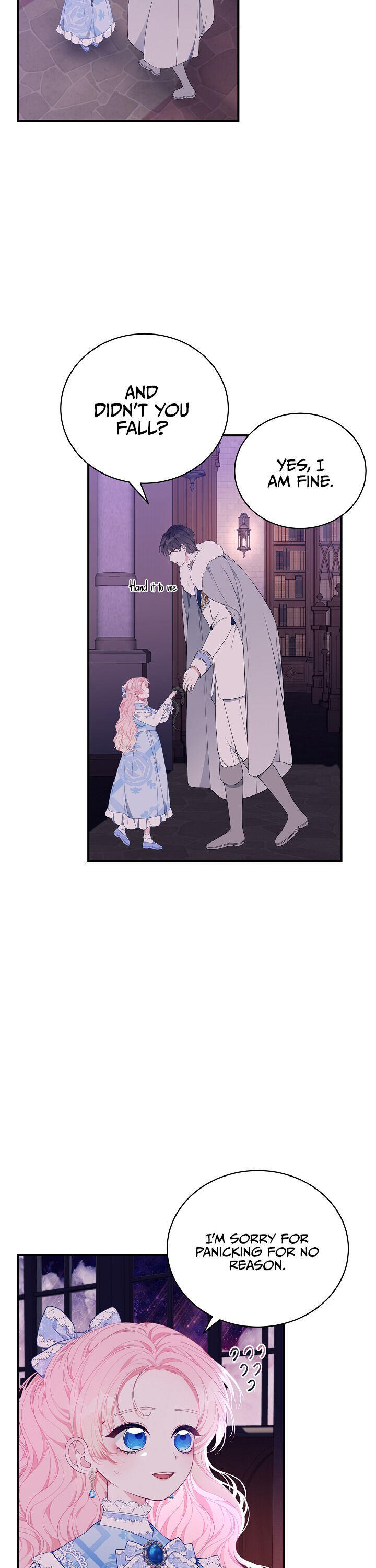 I Only Came To Find My Dad Chapter 23 page 21 - Mangakakalots.com