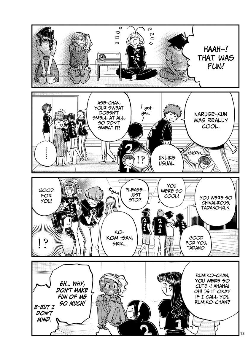Komi-San Wa Komyushou Desu Chapter 189: Test Of Courage Aftermath page 8 - Mangakakalot
