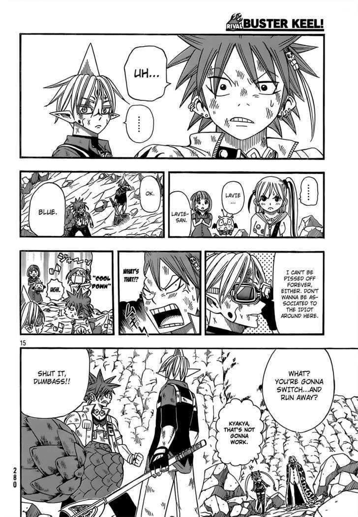 Buster Keel! Vol.2 Chapter 16 : My Funny Crem (Part 3) page 15 - Mangakakalots.com
