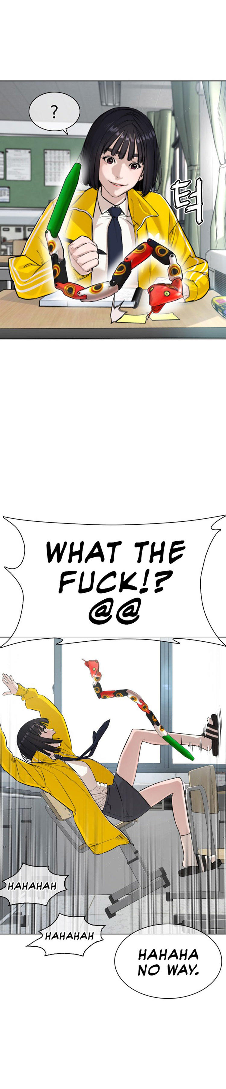 How To Fight Chapter 20: Are You Asking If I'm Pretty? page 4 - Mangakakalots.com